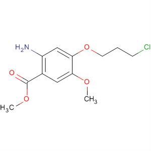 2-氨基-4-(3-氯丙氧基)-5-甲氧基苯甲酸甲酯 214470-59-4