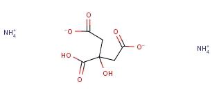 Ammonium citrate dibasic 3012-65-5