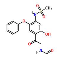 N-{[4-[2-(Formylamino)acetyl]-5-hydroxy-2-phenoxyphenyl}methanesulfonamide 149457-03-4