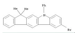 1257220-44-2 2-bromo-7,7-dimethyl-5-phenyl-5,7-dihydroindeno[2,1-b]carbazole
