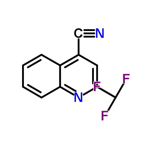 2-三氟甲基-4-氰基喹啉 18706-26-8