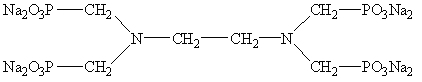 Ethylene Diamine Tetra (Methylene Phosphonic Acid) Sodium 22036-77-7