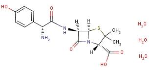 AMOXICILLIN TRIHYDRATE 61336-70-7