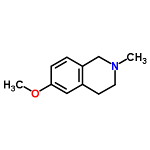 54893-54-8 6-methoxy-2-methyl-1,2,3,4-tetrahydroisoquinoline