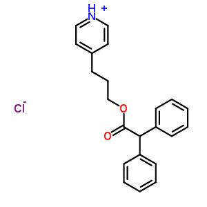 66902-54-3 4-{3-[(diphenylacetyl)oxy]propyl}pyridinium chloride