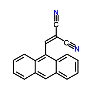 55490-87-4 (anthracen-9-ylmethylidene)propanedinitrile