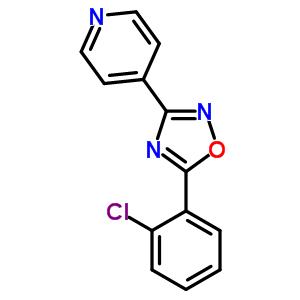 27199-40-2 4-[5-(2-chlorophenyl)-1,2,4-oxadiazol-3-yl]pyridine
