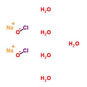 55248-17-4 sodium hypochlorite hydrate (2:2:5)