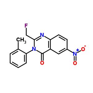 56287-73-1 2-(fluoromethyl)-3-(2-methylphenyl)-6-nitroquinazolin-4(3H)-one