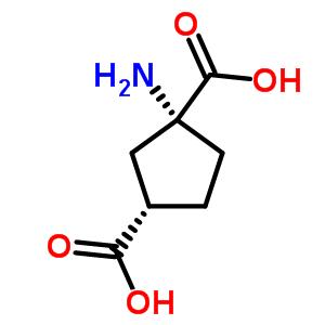 56827-69-1;67684-64-4 (1R,3S)-1-aminocyclopentane-1,3-dicarboxylic acid