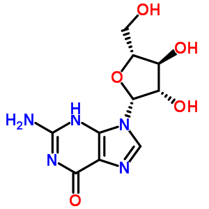 2-amino-9-(beta-D-arabinofuranosyl)-3,9-dihydro-6H-purin-6-one 38819-10-2