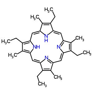 448-71-5 2,7,12,17-tetraethyl-3,8,13,18-tetramethylporphyrin