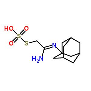 40283-70-3 S-[(2Z)-2-amino-2-(tricyclo[3.3.1.1~3,7~]dec-1-ylimino)ethyl] hydrogen sulfurothioate