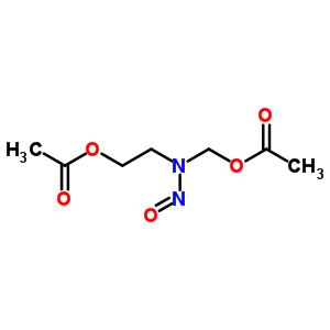 70103-77-4 {[2-(acetyloxy)ethyl](nitroso)amino}methyl acetate