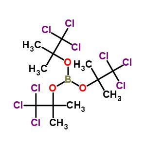 73758-19-7 tris(1,1,1-trichloro-2-methylpropan-2-yl) borate