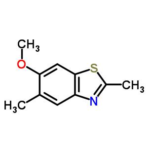 63816-00-2 6-methoxy-2,5-dimethyl-1,3-benzothiazole