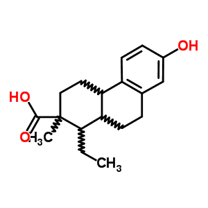109784-48-7;482-49-5 1-ethyl-7-hydroxy-2-methyl-1,2,3,4,4a,9,10,10a-octahydrophenanthrene-2-carboxylic acid
