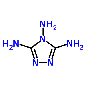 1656-14-0;4355-59-3;473-96-1;82882-12-0 4H-1,2,4-triazole-3,4,5-triamine