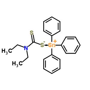 1803-18-5 triphenylstannanylium diethylcarbamodithioate