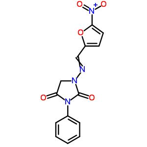 20167-49-1 1-{[(5-nitrofuran-2-yl)methylidene]amino}-3-phenylimidazolidine-2,4-dione