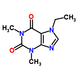 23043-88-1 7-ethyl-1,3-dimethyl-3,7-dihydro-1H-purine-2,6-dione