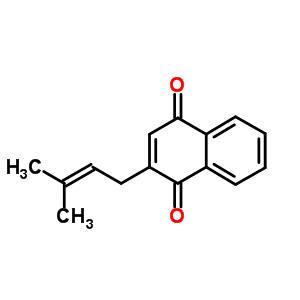 3568-90-9 2-(3-methylbut-2-en-1-yl)naphthalene-1,4-dione