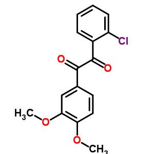56159-70-7 1-(2-chlorophenyl)-2-(3,4-dimethoxyphenyl)ethane-1,2-dione