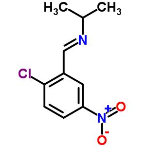 71173-78-9 N-[(E)-(2-chloro-5-nitrophenyl)methylidene]propan-2-amine