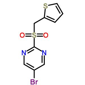 79685-33-9 5-bromo-2-[(thiophen-2-ylmethyl)sulfonyl]pyrimidine