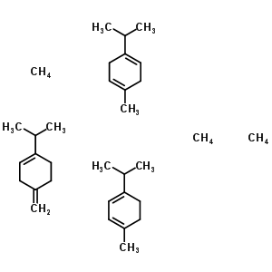 8013-00-1 1-isopropyl-4-methyl-cyclohexa-1,3-diene; 1-isopropyl-4-methyl-cyclohexa-1,4-diene; 1-isopropyl-4-methylene-cyclohexene; methane