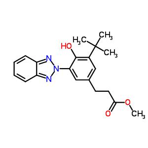 102577-46-8;84268-33-7 methyl 3-[3-(2H-benzotriazol-2-yl)-5-tert-butyl-4-hydroxyphenyl]propanoate