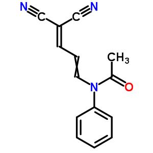122694-42-2;61600-13-3 N-(4,4-dicyanobuta-1,3-dien-1-yl)-N-phenylacetamide