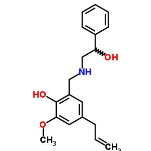 54219-86-2 2-{[(2-hydroxy-2-phenylethyl)amino]methyl}-6-methoxy-4-(prop-2-en-1-yl)phenol