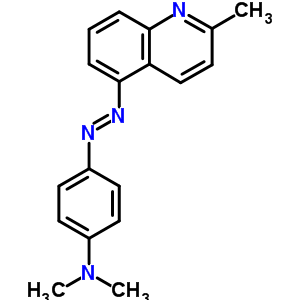 17416-18-1 N,N-dimethyl-4-[(E)-(2-methylquinolin-5-yl)diazenyl]aniline