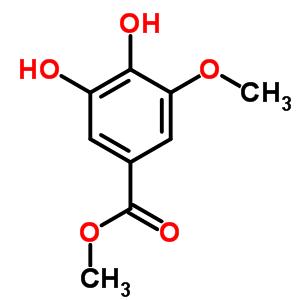 3934-86-9 methyl 3,4-dihydroxy-5-methoxybenzoate