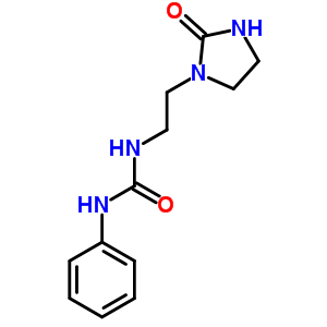 54924-46-8 1-[2-(2-oxoimidazolidin-1-yl)ethyl]-3-phenylurea