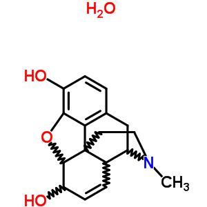 6009-81-0 17-methyl-7,8-didehydro-4,5-epoxymorphinan-3,6-diol hydrate (1:1)