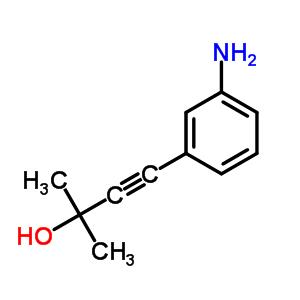 69088-96-6 4-(3-aminophenyl)-2-methylbut-3-yn-2-ol