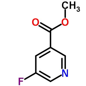 5-氟吡啶-3-甲酸甲酯 455-70-9