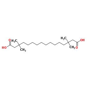 87272-20-6 3,3,14,14-tetramethylhexadecanedioic acid