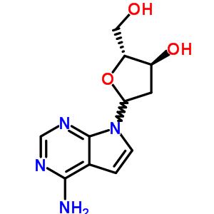 60129-59-1 7-(2-deoxy-D-erythro-pentofuranosyl)-7H-pyrrolo[2,3-d]pyrimidin-4-amine