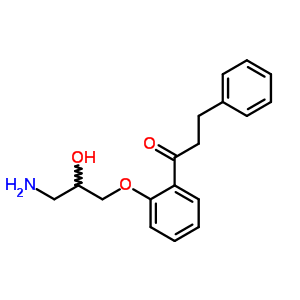 86383-21-3 1-[2-(3-amino-2-hydroxypropoxy)phenyl]-3-phenylpropan-1-one