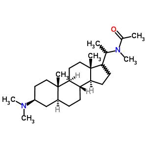 2309-42-4 N-[(3beta,5alpha,17xi)-3-(dimethylamino)pregnan-20-yl]-N-methylacetamide