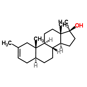 2527-18-6 (5alpha,17beta)-2,17-dimethylandrost-2-en-17-ol