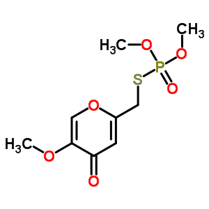 2778-04-3 S-[(5-methoxy-4-oxo-4H-pyran-2-yl)methyl] O,O-dimethyl phosphorothioate