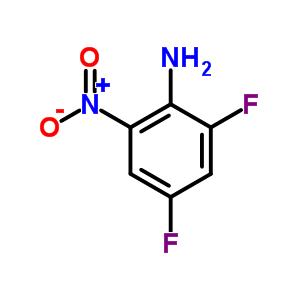 2,4-二氟-6-硝基苯胺 364-30-7
