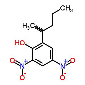 4097-36-3 2,4-dinitro-6-(pentan-2-yl)phenol