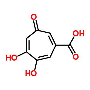 4440-39-5 5,6-dihydroxy-3-oxocyclohepta-1,4,6-triene-1-carboxylic acid