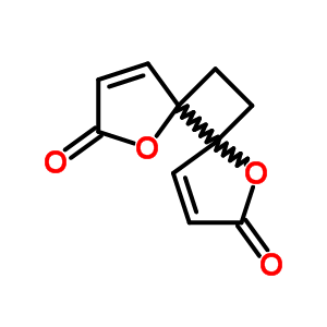 508-44-1;90921-11-2 1,7-dioxadispiro[4.0.4.2]dodeca-3,9-diene-2,8-dione