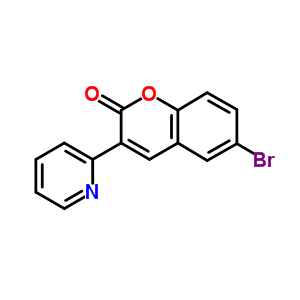 958-58-7 6-bromo-3-(pyridin-2-yl)-2H-chromen-2-one